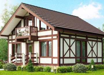 Фахверковые дома — простота плюс оригинальность