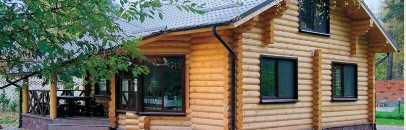 Дома из оцилиндрованного бревна — строить или нет?