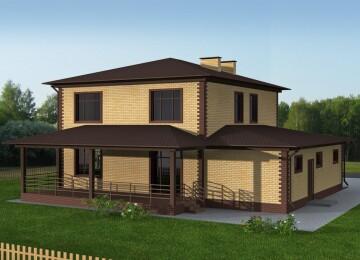 Пример проекта: индивидуальный жилом дом 178 кв.м.