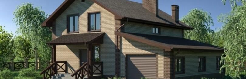 Проекты домов с встроенным гаражом