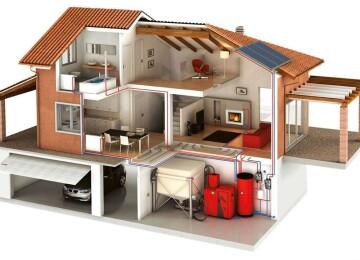 Монтаж системы отопления в загородном доме: мифы и заблуждения