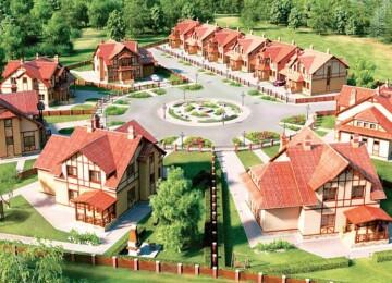 Проектирование коттеджей в коттеджном поселке