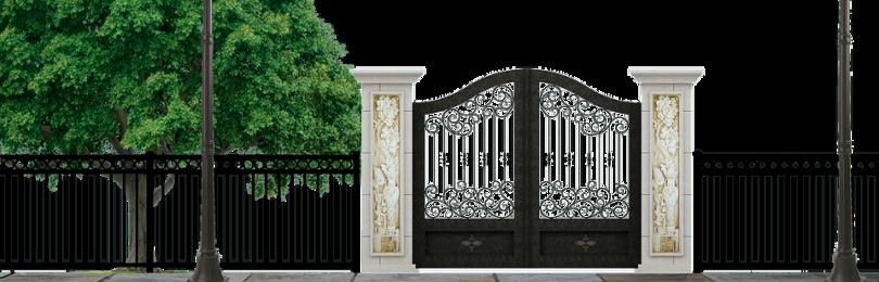 Хороший забор для дома – какой он?