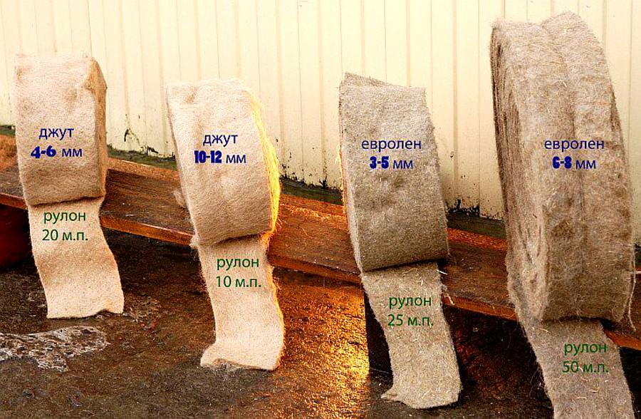 материалы для утепления деревянного дома