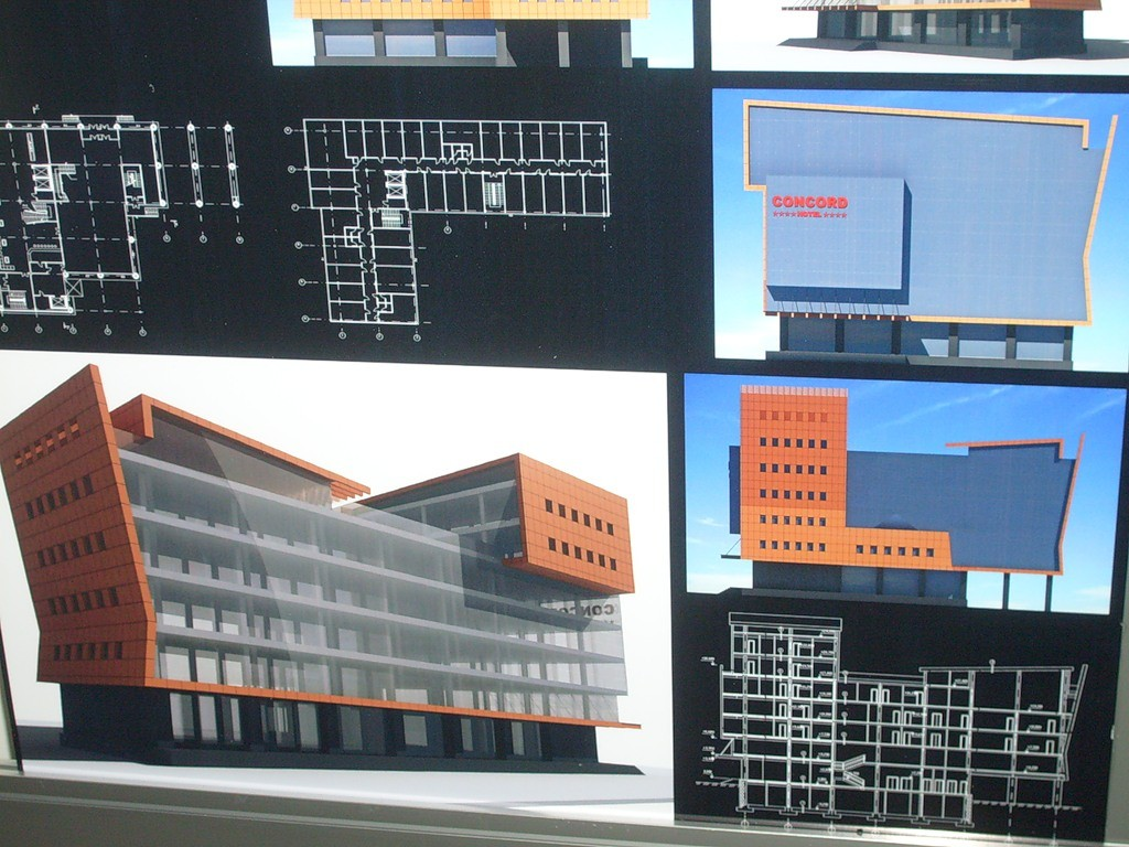Проект отеля