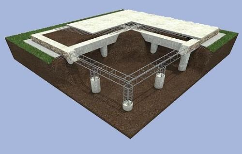 Проектирование фундамента и затраты на сроительство