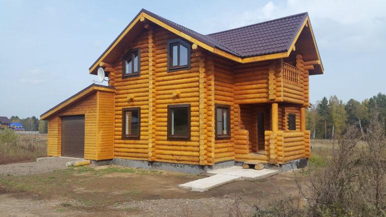 Дома из натурального дерева