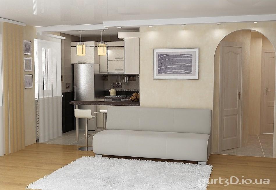 Перепланировка квартиры в студию