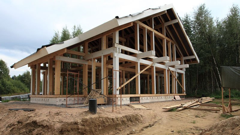 Строительство фахверковый дом