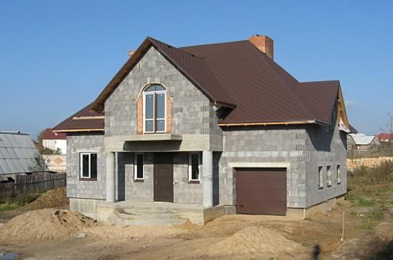 Преимущества керамзитобетонных домов
