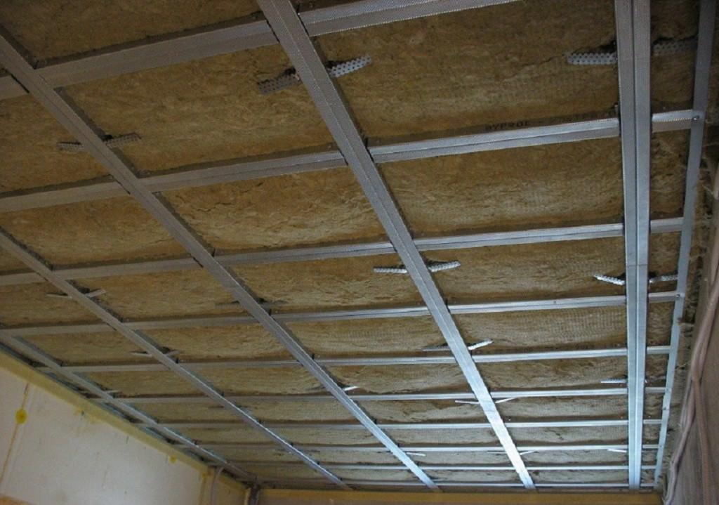 Шумо-и звукоизоляция потолка