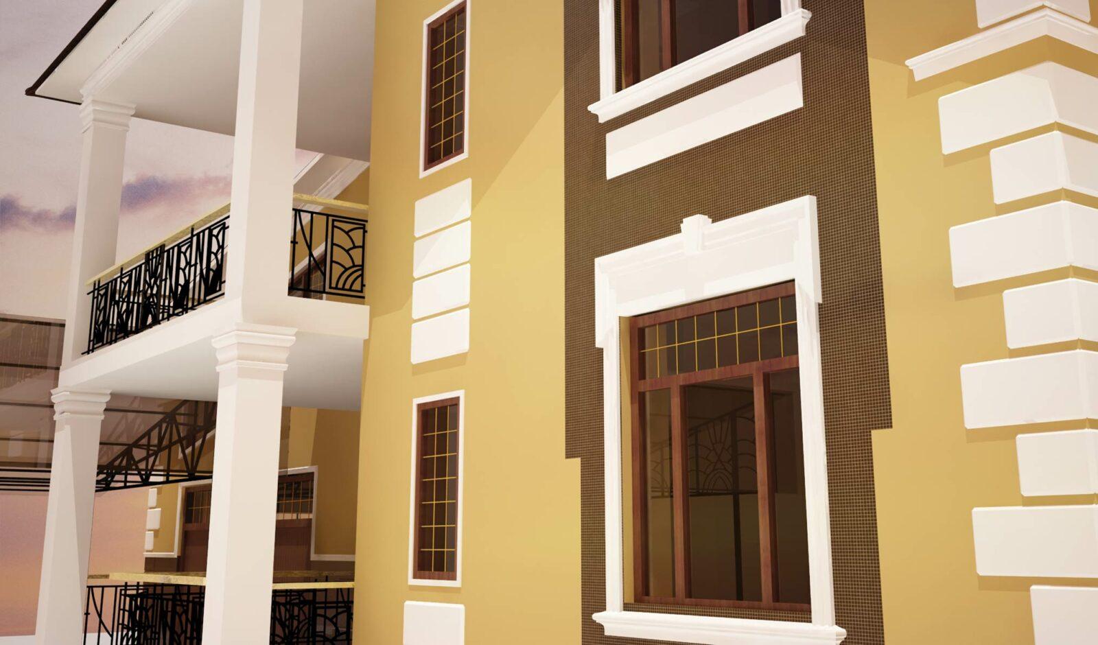 Декор для фасада дома