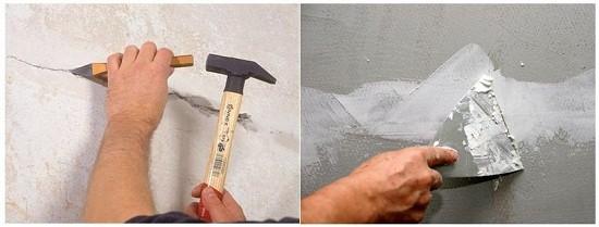 Ремонт и реставрация декоративной штукатурки