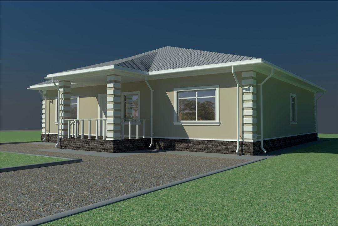 Пример проекта: индивидуальный жилой дом 148 кв.м.