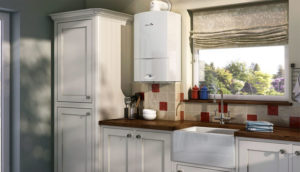 Кухня с газовой сколонкой