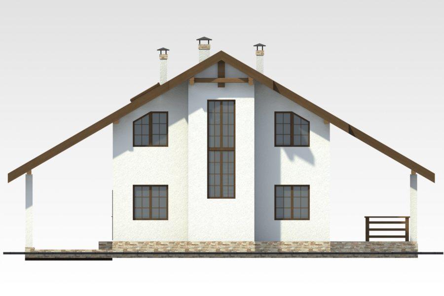 Дом из арболита