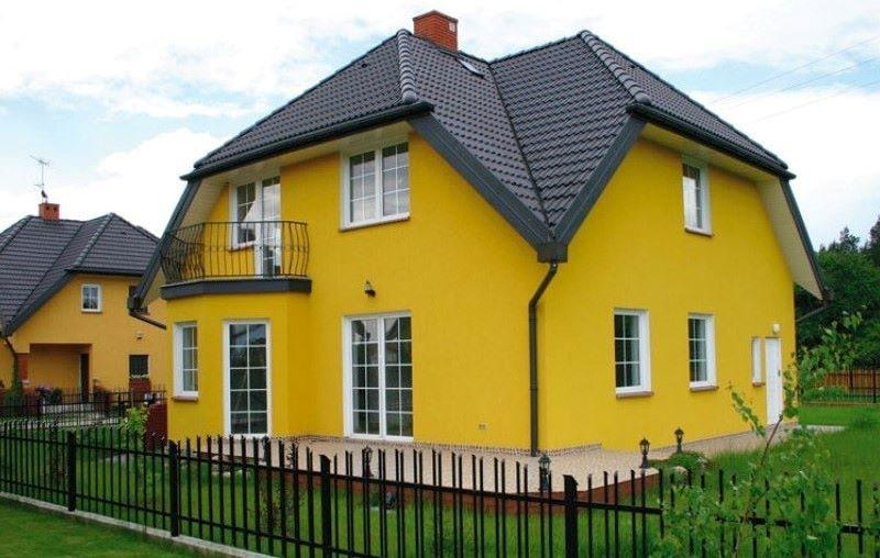 Цветовые решения для фасада