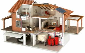 Монтаж системы отопления в загородном доме