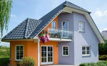 Цвет для фасада дома