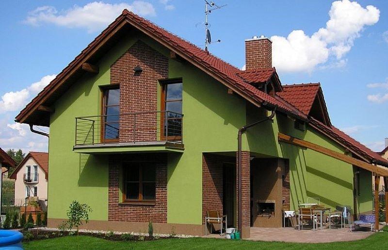Как выбрать цвет для фасада дома