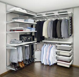 Ддизайн гардеробной комнаты