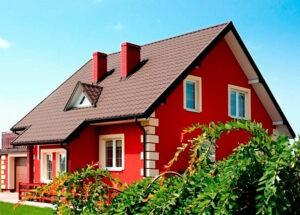 Как выбрать цвет для фасада частного дома