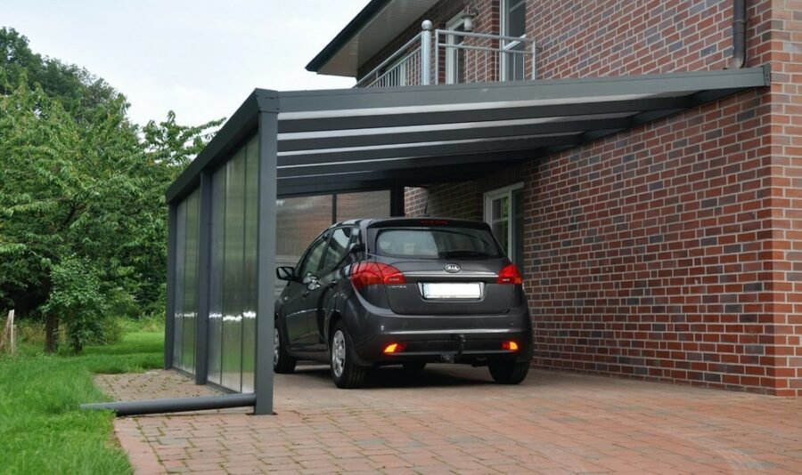 Парковка для личного авто около дома
