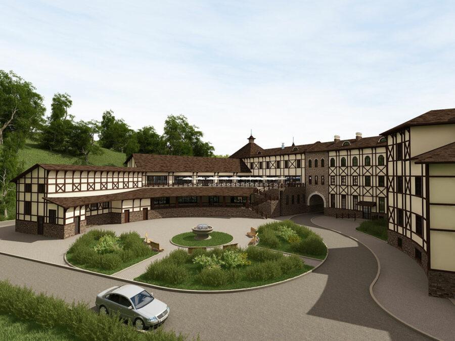 Разработка проекта гостиничного комплекса