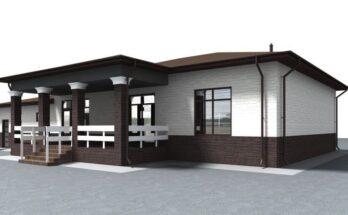 Одноэтажный жилой дом 3-2