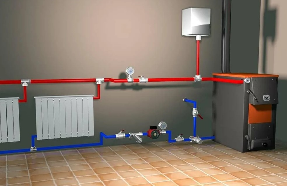 Аварийная система отопления в доме