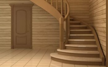 Камень для внутренней лестницы в доме на главную